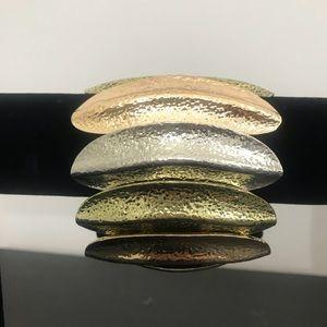 Jewelry - Bracelet 3 tone slip on, stretch, tribal